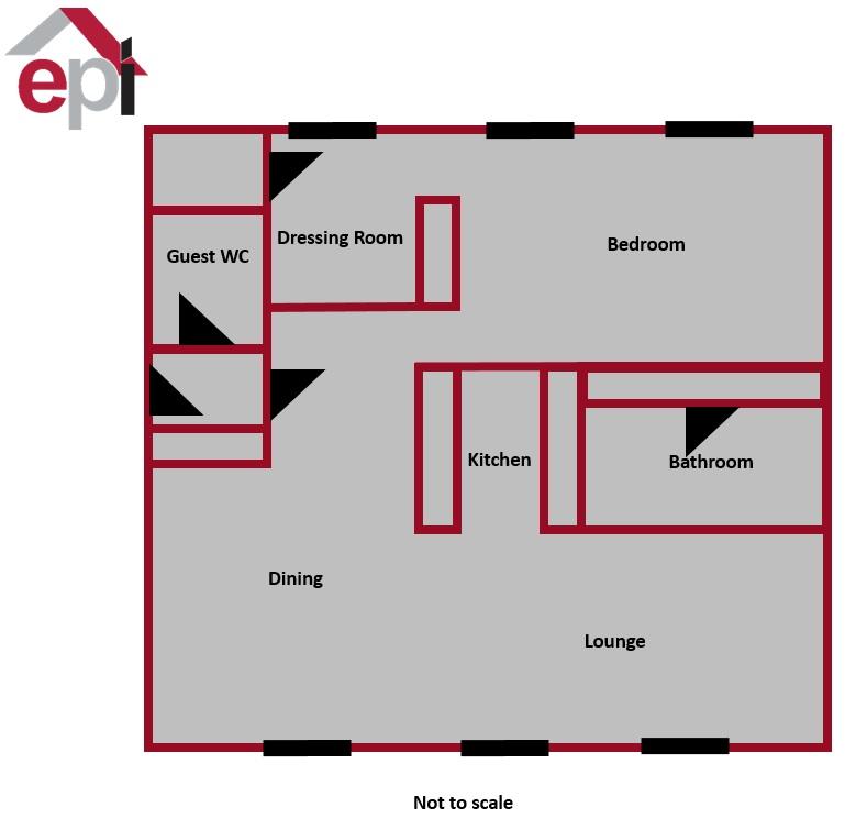 17 Mill House Floor plan