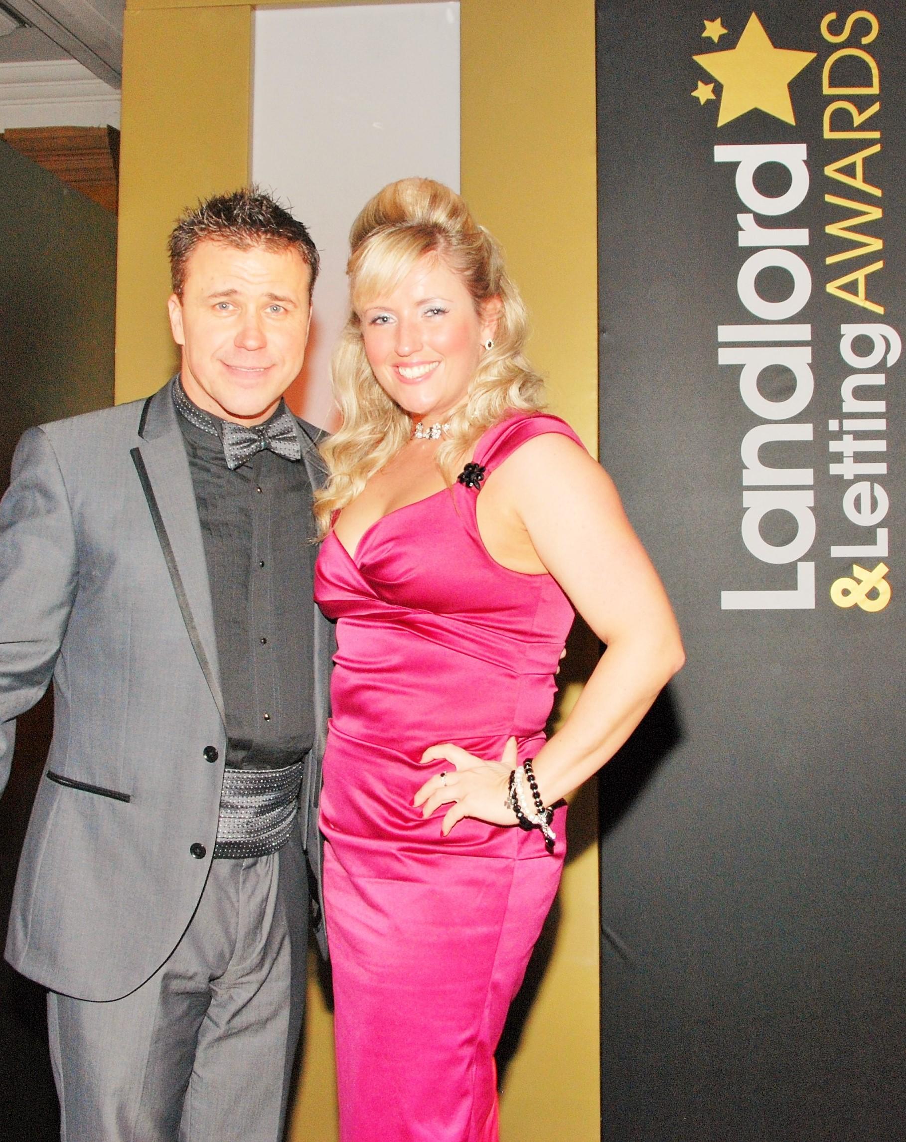 Craig Philips and Elaine Duthie - Landlord and letting awards 2010 (3)