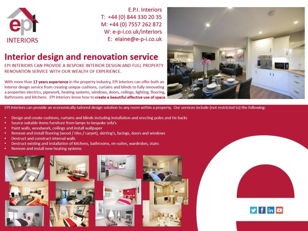 EPI INTERIORS ADVERT